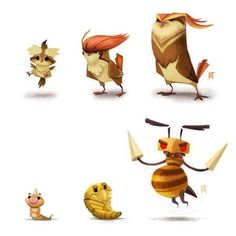 9gag user shivankarcobra posted these and we had to share them with you. Each piece depicts multiple evolutions of Pokemon, but depicts them in a very artistic way. Stylistically, we've never seen anything quite like these.