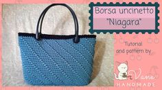 "Borsa a uncinetto ""Niagara"" 
