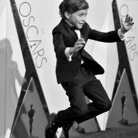 Jacob Tremblay at event of The 88th Annual Academy Awards (2016)