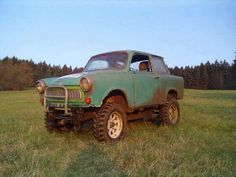 Offroad, East German Car, First Car, Old Cars, Cars Motorcycles, Monster Trucks, Garage, Vehicles, Cool Cars