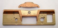 Plastic Face Covers from RCA VICTOR 8-TR-3 Reel to Reel Tape Player/Recorder #ebay #deals
