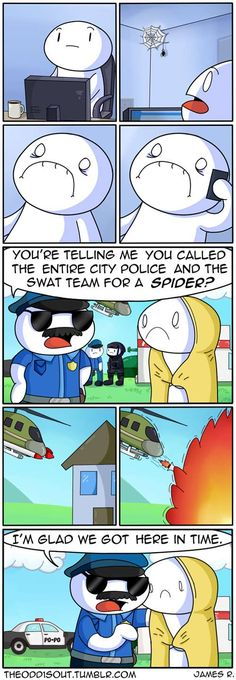 Theodd1sout :: Spider Comic | Tapastic Comics - image 1