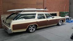 it's hard to mod these cars and have them look good in the end; this one pulls it off for the most part. Personally I'd put a little more sidewall on it. Buick Wagon, Chevy Caprice Classic, Welcome Wagon, Station Wagon Cars, Donk Cars, Woody Wagon, Buick Roadmaster, Old Wagons, Ford Classic Cars