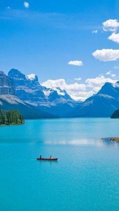 【カナダ】マリーン湖