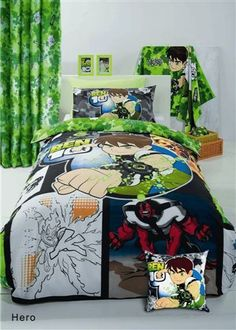 Ben 10 Birthday, Bed Room, Comforters, Blanket, Boys, Google, Image, Home Upgrades, Blinds
