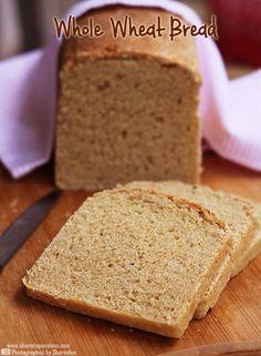 Whole Wheat Bread Recipe Recipe