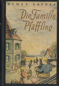 Agnes Sapper / Die Familie Pfäffling Books, Painting, Vintage, Art, Marque Page, Reading, Drawing S, Art Background, Libros