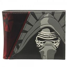 Star Wars Kylo Ren Dark Side Bi-Fold Wallet - Radar Toys