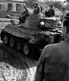 German Tiger I #323 from 503 s.Pz.Abt.