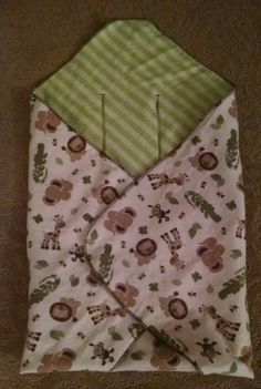 Christi's car seat swaddle