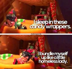 Vanellope von Schweetz - Wreck-It Ralph. I got so many nostalgic feels during and after this movie. The feeels!