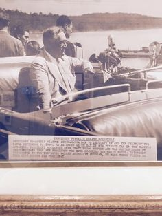 President Roosevelt visiting Chattanooga in 1940 to Dedicate the Chickamauga Dam!