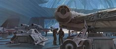 Echo Base concept illustration by Ralph McQuarrie