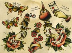 tattoo inspiration - old school