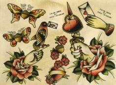 tattoo inspiration - old school