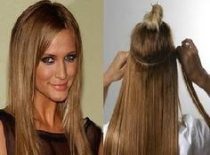 Just a few well placed tracks or wefts of hair can make ALL the difference in the world!