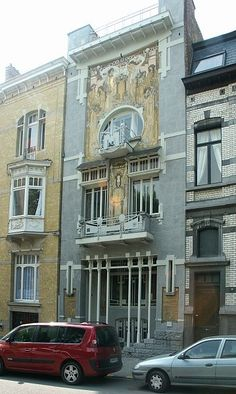 ART NOUVEAU AND RELATED ARCHITECTURE IN BRUSSELS