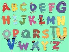 Letterland Living ABC Song | videos | Pinterest | Abc songs ...