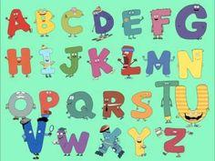 Letter Buddies ABC Song Abc Songs, Alphabet Songs, Kindergarten Songs, Teachers Corner, School Videos, Learning Letters, Brain Breaks, Reading Resources, Inspirational Videos