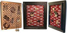 Crochet Jewelry Frame    http://www.ravelry.com/patterns/library/crochet-jewelry-frame
