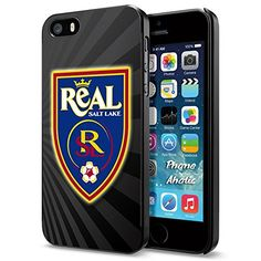 Soccer MLS REAL SALT LAKE SOCCER CLUB FOOTBALL FC Logo, Cool iPhone 5 5s Smartphone Case Cover Collector iphone Black Phoneaholic http://www.amazon.com/dp/B00WPUKF9Y/ref=cm_sw_r_pi_dp_mmUpvb0XV0ZRX
