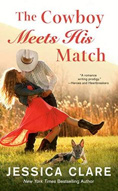The Cowboy Meets His Match (The Wyoming Cowboys Series) by Jessica Clare Writing Romance, Romance Novels, Mythology Books, Wyoming Cowboys, Penguin Random House, Books To Buy, Bestselling Author, Ebooks, Becca