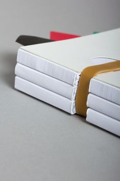 love this binding - BLANCA by Lo Siento , via Behance