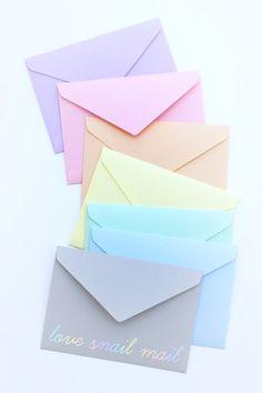pastels.quenalbertini: Envelopes
