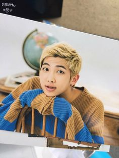 Beautiful, hadsome, sweet, cute, rap monster, namjoon, he has many names and I choose to call him inspiration