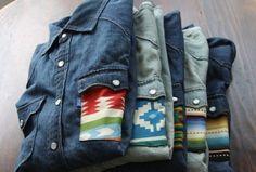 Navajo jeans.