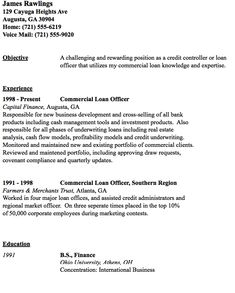 I Want To Be A Loan Officer...Academic Advice Please?
