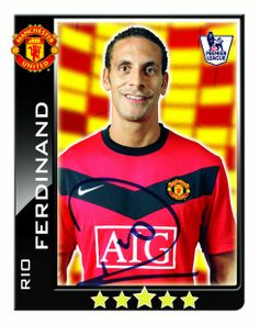 See how departing Manchester United defender Rio Ferdinand has changed during his 12 years at United here. Manchester United Images, Manchester United Football, Rio Ferdinand, Man United, Premier League, The Unit, Baseball Cards, Sports, Scrapbook