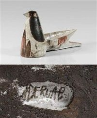 Jean Derval (French, 1925 - 2010), Oiseau , ca. 1950–1960.
