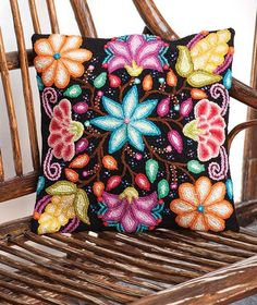 Summer Flowers Cushion Cover