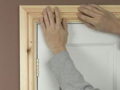 Fitting architrave 5