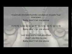 2BiC (투빅) - Bye Bye Love (Hangul/Romanized/English Sub) Lyrics - YouTube
