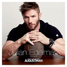 Julian Edelman - New England Patriots Julian Edelman, Edelman Patriots, Danny Amendola, Nfl Football Players, Rugby Players, New England Patriots Football, Go Pats, Boston Sports, Athletic Men