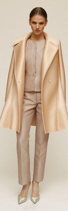 @roressclothes closet ideas women fashion outfit clothing style Zac Posen Resort 2015:
