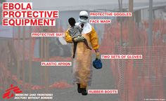 TOUCH this image: An interactive guide to MSF's #Ebola protective equipment by Médecins Sans Frontières UK