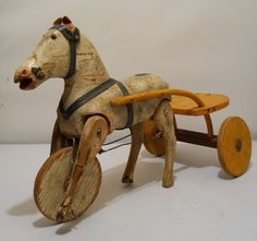 Wooden Horse Riding Toy