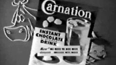 Commercial - Carnation Instant Chocolate Drink w/The Carnation Kid! Posted on YouTube by: Video Archeology6 Find it here: http://youtu.be/iY6CDYbHaxc Uploaded on December 11 2016 at 02:57PM