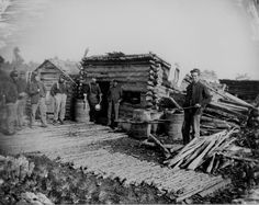 Union company kitchen, 1864    http://www.archives.gov/research/military/civil-war/photos/images/civil-war-001.jpg