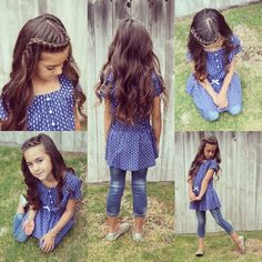 Hairstyle for lil girls Flower Girl Hairstyles, Princess Hairstyles, Little Girl Hairstyles, Cute Hairstyles, Braided Hairstyles, Hair Dos For Kids, Girl Hair Dos, Girls Braids, Toddler Hair