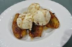 Finish your meal on a sweet note with this quick and easy most delicious yummy desert ever! The filling is surrounded with awesome flavours that will make this a favourite for anyone who loves a sweet desert. One word, AWESOME! Fried Bananas, South African Recipes, Sweet Notes, Cucumber Salad, Fries, Side Dishes, Deserts, Pudding, Snacks