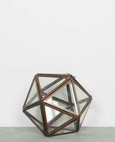 Polygon aus Glas