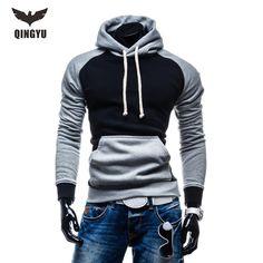 2017 New brand Men Hoody Sweatshirts Hip Hop Fashion Slim Hoodies Men Hooded Cloak Sudaderas Hombre Casual Hoodie Sweatshirts //Price: $34.89 & FREE Shipping //     #Shopping