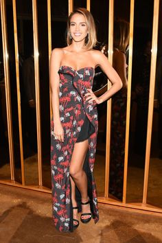 Jessica Alba at Yahoo Style's Met Gala After Party. See all the outfits at the Met gala after parties.
