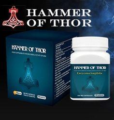 Hammer Of Thor Asli Obat Kuat, Tahan Lama Dan Pembesar Penis No. 1, Obatnya Para Gigolo.