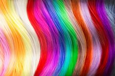 Hair colors palette. Dyed hair color samples Hair Dye Colors, Crazy Colour, Freaking Awesome, How To Make Hair, Jewel Tones, Clipart, Dyed Hair, Cool Hairstyles, Palette