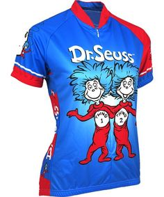 Suess Thing 1 and Thing 2 Women s Cycling Jersey d30fbb519